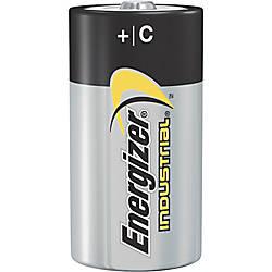 Energizer Industrial Alkaline C Batteries C