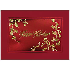 Sample Holiday Card Glistening Holidays
