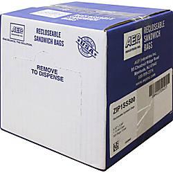 Webster Zipper Storage Bags 115 mil