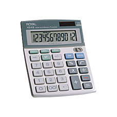 Royal XE 48 Angled Display Calculator