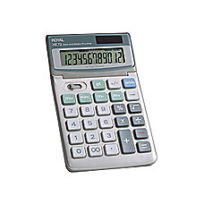 Royal XE 72 Tiltable Display Calculator