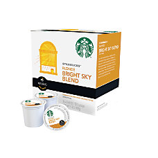 Starbucks Bright Sky Coffee K Cups