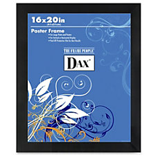 Dax Black Wood Poster Frame 16