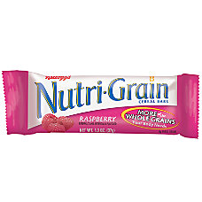 Kelloggs Nutri Grain Bars Raspberry 13