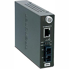 TRENDnet TFC 110S30i Intelligent 10100Base TX
