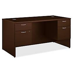 HON 101 Double Pedestal Desk 60
