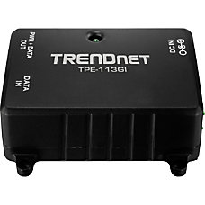 TRENDnet TPE 113GI Gigabit Power over