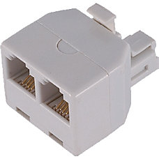 GE 76191 White Duplex In Wall