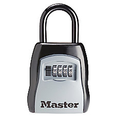 Master Lock Portable Storage Lock Black