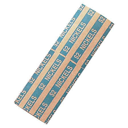 Coin Tainer Flat Tubular Coin Wrappers on office depot coin wrappers