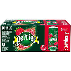 Perrier Sparkling Mineral Water Strawberry 845
