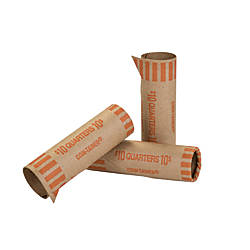 Coin Tainer Preformed Tubular Coin Wrappers