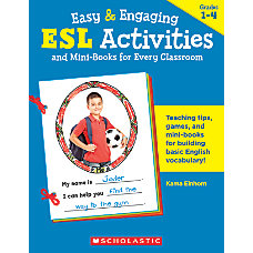Scholastic ESL ActivitiesMini Books