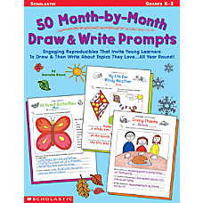 Scholastic 50 Draw Write Prompts