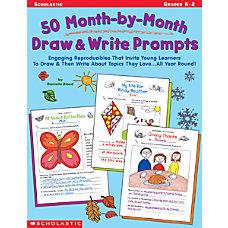 Scholastic 50 Draw Write Prompts