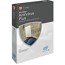 McAfee AntiVirus Plus 2015 For 1