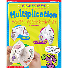 Scholastic Fun Flap Multiplication