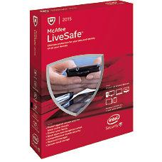 McAfee LiveSafe 2015 For PCMac eCard