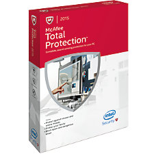 McAfee Total Protection 2015 For 3