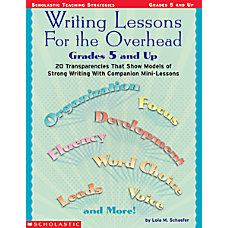 Scholastic Writing Lesson Overhead Grades 5