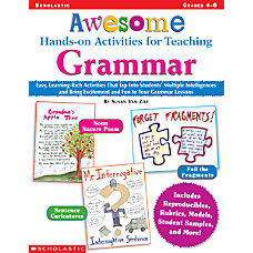 Scholastic Awesome Activities Teaching Grammar