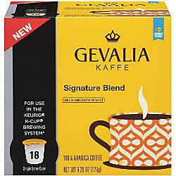 Gevalia Signature Blend Coffee Single Serve