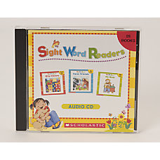 Scholastic CD Sight Word Readers