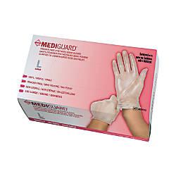 MediGuard Powder Free Vinyl Exam Gloves