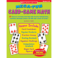 Scholastic Card Game Math