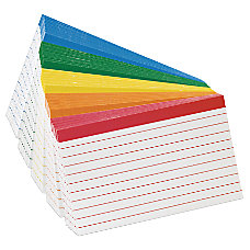 Oxford Color Coded Index Cards 4