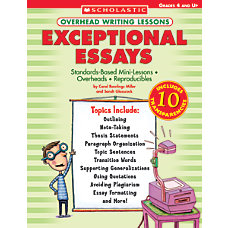 Scholastic Overhead Writing Lesson Essays