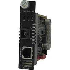 Perle C 110 S1SC40D Media Converter