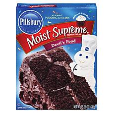 Pillsbury Folgers Moisture Supreme Devils Food