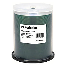 Verbatim CD R 700MB 52X Diamond