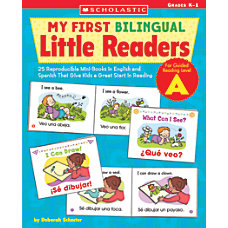 Scholastic Bilingual Little Readers Level A