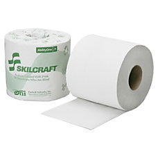 SKILCRAFT 1 Ply Individually Wrapped Toilet