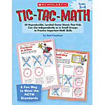 Scholastic Tic Tac Math Grades 3