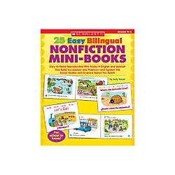 Scholastic Bilingual Nonfiction Mini Books