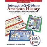 Scholastic 3D Maps American History 8