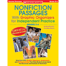 Scholastic Nonfiction Passages Grades 4 8
