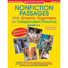 Scholastic Nonfiction Passages Grades 4 8