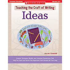 Scholastic Writing Craft Ideas