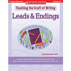 Scholastic Writing Craft LeadingEnding