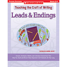 Scholastic Writing Craft LeadingEnding