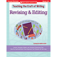 Scholastic Writing Craft RevisingEditing