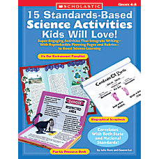 Scholastic Science Activities
