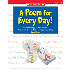 Scholastic A Poem For Every Day