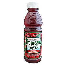 Tropicana Cranberry Juice Drink 10 Oz