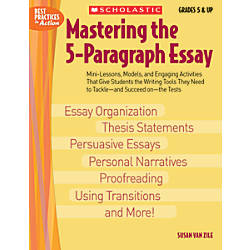 mastering the 5 paragraph essay Free shipping buy mastering the 5-paragraph essay at walmartcom.