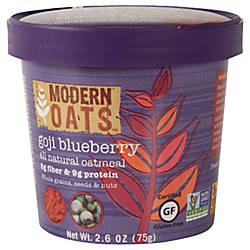 Modern Oats Oatmeal Cups Goji Blueberry
